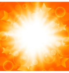 Abstract bright summer explosion vector