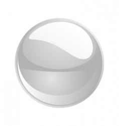 Shiny sphere 02 white vector