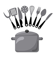 Kitchen concept vector