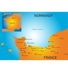 Normandy vector