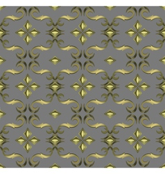 Seamless expensive victorian pattern in retro vector
