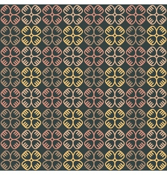 Ethnic seamless pattern with symbols vector