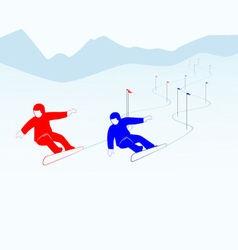 Slalom vector