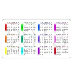 Calendar 2013 vector