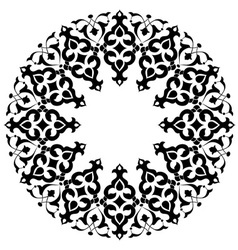 Ottoman motifs design series with thirty three vector