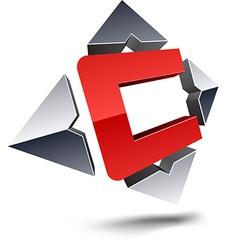 C 3d letter vector
