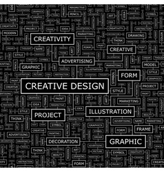 Creative design vector