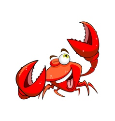 Marine crab vector