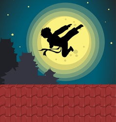 Kicking into the moonlight vector