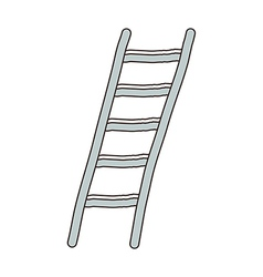 A ladder is placed vector