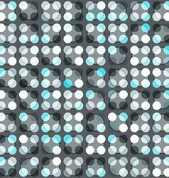Blue circle seamless pattern vector
