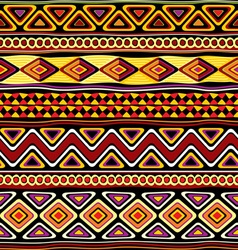 Afrikan seamless ornament vector