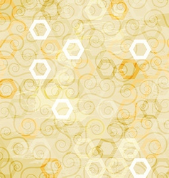 Abstract white cells seamless vector