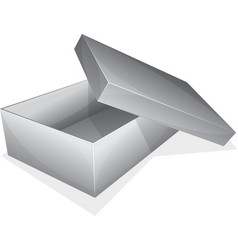 Empty box vector