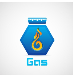 Gas vector