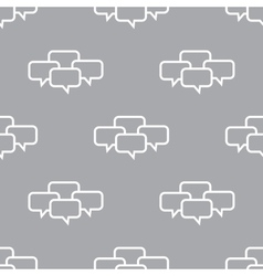 Dialog seamless pattern vector