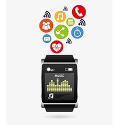 Wearable technology vector