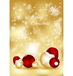 Golden xmas cards vector