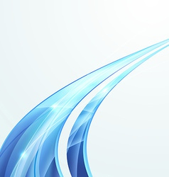 Bright swoosh speed rapid line folder design vector