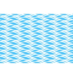 Summer seamless wave pattern isolated on blue vector
