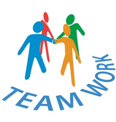 Teamwork collaboration vector