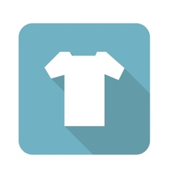 Square t-shirt icon vector
