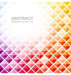 Abstract colorful square pattern background vector