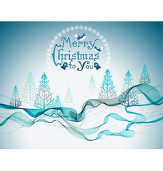 Christmas abstract greeting background vector