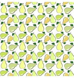 Seamless pear vector