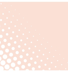 Pink background or decoration with white dots vector