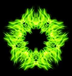 Star fire vector