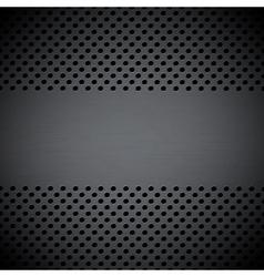 Metal circular grid vector