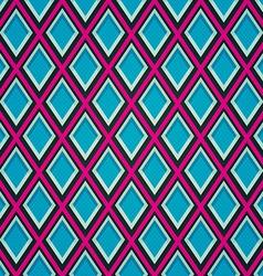 Blue mosaic seamless pattern vector