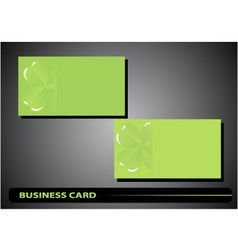 Business card st patricks day vector