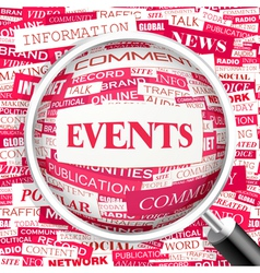 Events vector