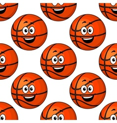 Happy round smiling orange emoticons vector