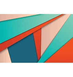 Unusual modern material design vector