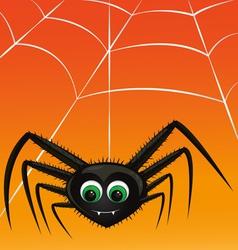 Vampire spider vector