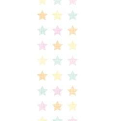 Stars textile textured pastel vertical seamless vector