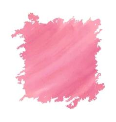 Watercolor deep pink vector