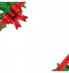 Christmas gift border vector