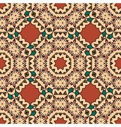 Decorative seamless ethnic pattern endless japan vector