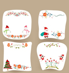 Christmas banners holiday graphic symbol vector