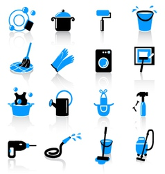 Homework icons vector