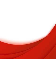 Bright business red layered background template vector