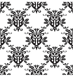 Damask seamless silk vector