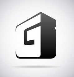 Logo for letter g vector