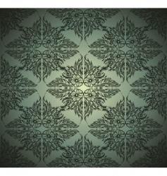 Seamlessly damask wallpaper vector