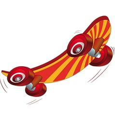 Skate board vector