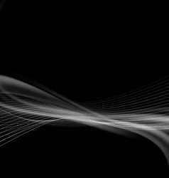 Dark smoke modern abstract background vector
